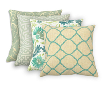 Lumbar Pattern Outdoor Pillow