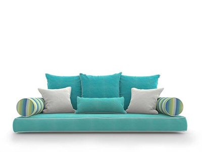 Canvas Aruba Seville Seaside Bed Swing Pillow Collection #2