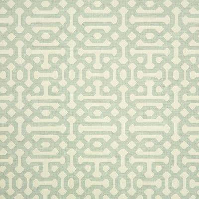 """Approximately 27"""" x 27"""" Shown of Fretwork-Mist"""